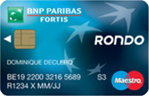 réserve d'argent Rondo -cartedecredit.be